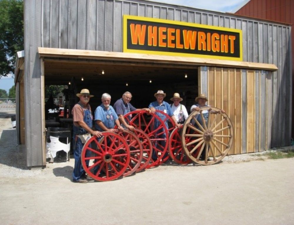 Wheelwrighting At The Indiana State Fair